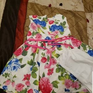 Spring  carters  floral dresse 24m for baby girl